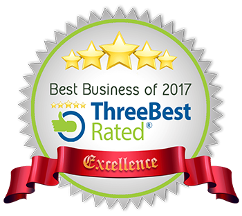 Best Business of 2017 - Three Best Rated